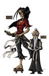 Master And Miyamoto by StevenCrowe