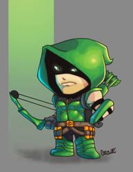 Green Arrow by StevenCrowe