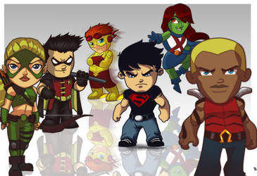 Young Justice by StevenCrowe