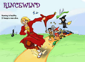 Rincewind by ninjamuffin