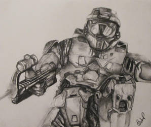 Halo 4 (Master Chief) by officialcjbgames