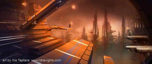 Enter the Metropolis by XiaTaptara