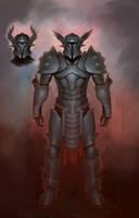 Wing Knight by XiaTaptara