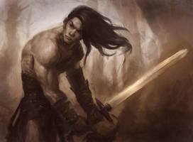 The Barbarian by XiaTaptara