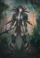 Medium NightmareCourt character concept by XiaTaptara