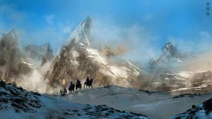 The Golden Horde on Tatra mountains by XiaTaptara