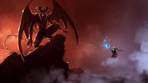 Angel-and-demon by XiaTaptara