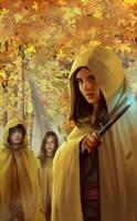 Along Came a Wolf book cover by XiaTaptara