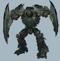 Mech design Venom Sting by XiaTaptara