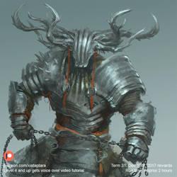 Knight of Thornes by XiaTaptara