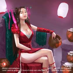 Blood Queen 2 by XiaTaptara