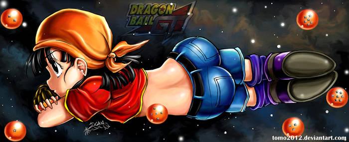 Pan Dragon Ball GT. by TOMO2012