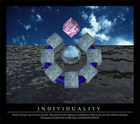 Individuality by object2bdestroyd