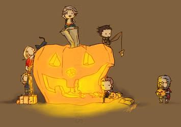 FFXII: Halloween by saltycatfish