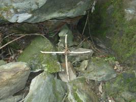 Handmade Cross Cullasaja Gorge by ProdigalComingHome