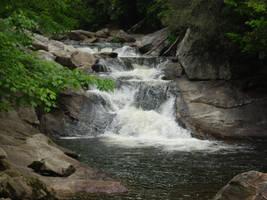 Small Falls Cullasaja Gorge by ProdigalComingHome