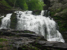 Bottom of Cullasaja Falls by ProdigalComingHome