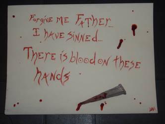 Bloody Prayer by ProdigalComingHome