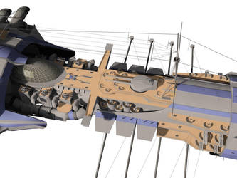Battleship Project - Detail I by Claevius