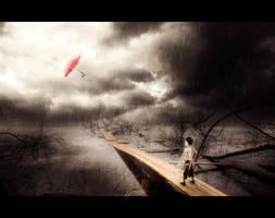 in the Rain by SukhRiar