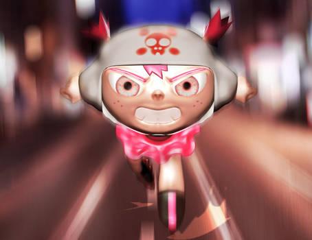 Roller Girl by tarunbanned