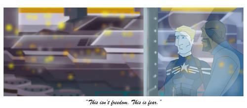 Captain America 2 Fear by tarunbanned