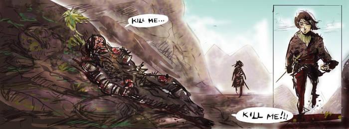 Arya and the Hound by tarunbanned