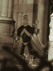 Superhero Retires by tarunbanned