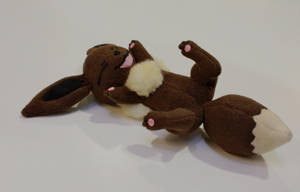 Eevee Clipping Plush by Vepstrouble