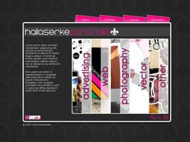 New web by Hallaserke