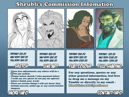 Commissions 2017 by Shrubli