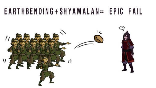 Shyamalan the Last Failbender by Kaek
