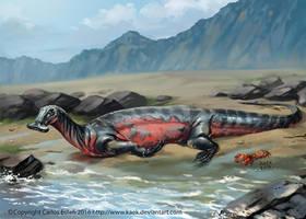 Atopodentatus unicus by Kaek