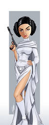 Princess Leia by Jon-Moss