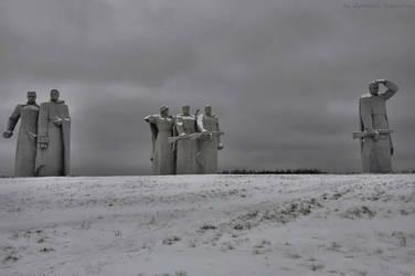 memorial of Panfilovtsam by Lyutik966