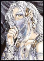 Uri the Veiled Dragon by Wasabineko