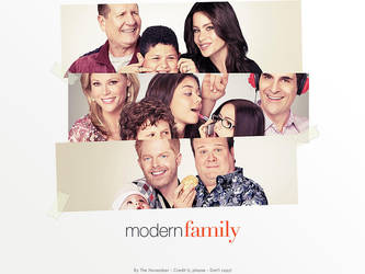 Modern Family Wallpaper 1 by thenovember