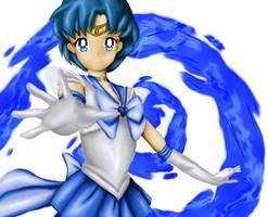 Sailor Mercury Color by deviantmaniatic
