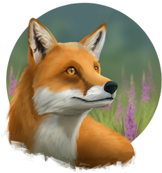 [Speed Paint 5] Fox In Gloves by TheVerdantHare