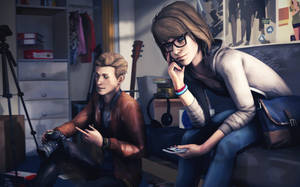 Life Is Strange - Max and Nathan by SSchar