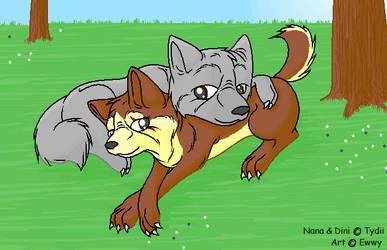 Nana and Dini by ewedy2