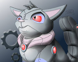 Robot Wocky by ewedy2