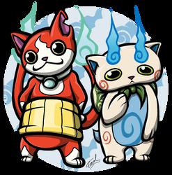 Yo-kai team by ewedy2