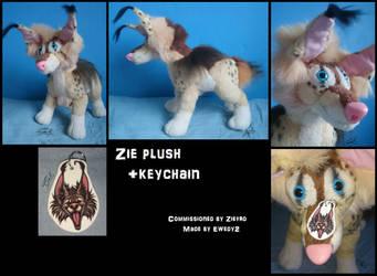 Zie plush by ewedy2