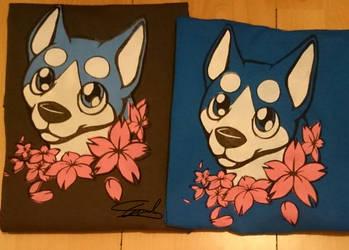 Ginga: Weed screen print T-shirts by ewedy2