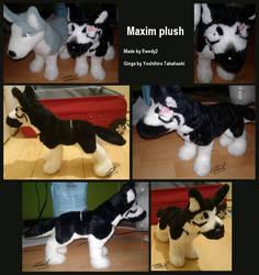 Ginga: Maxim plush by ewedy2