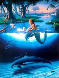 Littlest Mermaid by JimWarren