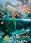 Mermaid Dreams by JimWarren