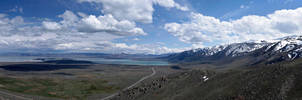 Mono Lake Pano by guidoanselmi