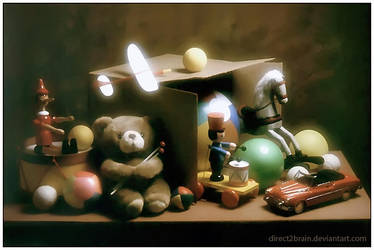 The Old Toys by Direct2Brain
